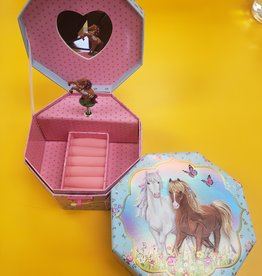 Hot Focus Musical Jewelry Box Majestic Horse