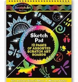 Melissa & Doug Scratch Art Sketch Pad