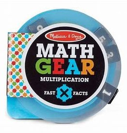 Melissa & Doug Math Gear Multiplication