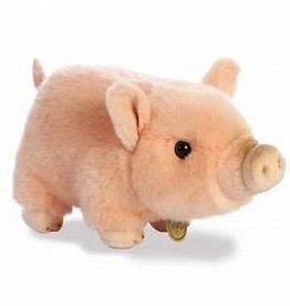 """Aurora 11"""" Pot Bellied Piglet Pink"""