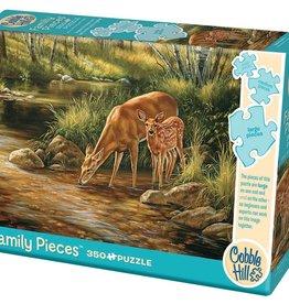 Cobble Hill Deer Family (Family) 350pc