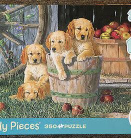 Cobble Hill Puppy Pail (Family) 350pc