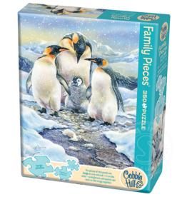 Cobble Hill Penguin Family (Family) 350 pc