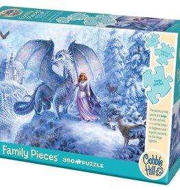 Cobble Hill Ice Dragon (Family) 350 pc