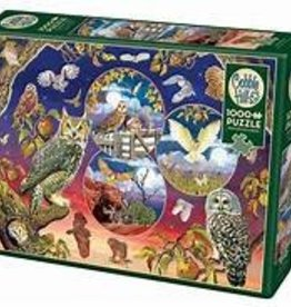 Cobble Hill Owl Magic 1000 pc