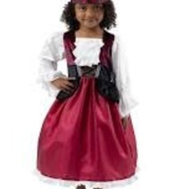 Little Adventures Pirate Dress with Bandana S