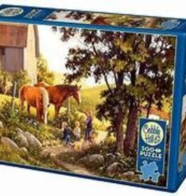 Cobble Hill Summer Horses 100 pc