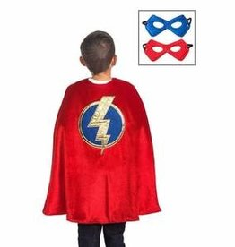 Little Adventures Red Hero Cape & Mask set