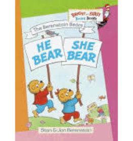 RH Childrens Books Berenstain Bears He Bear She Bear