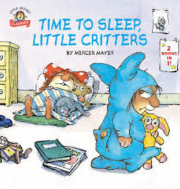 RH Childrens Books Time To Sleep, Little Critters by Mercer Mayer