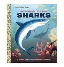 Golden Books My Little Golden Book About Sharks by Bonnie Bader