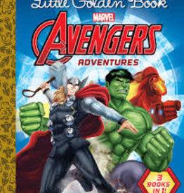 Golden Books LGB Avengers Adventure by various