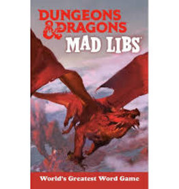 Mad Libs Dungeons and Dragons Mad Libs