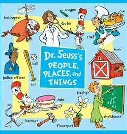 RH Childrens Books Dr Seuss's People Places and Things