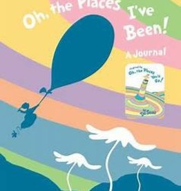 RH Childrens Books Oh The Places I've Been Journal