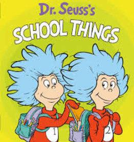 RH Childrens Books School Things by Dr. Seuss