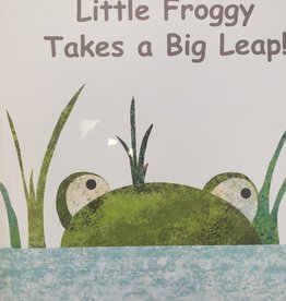 Mary Meyer Little Frog Takes a Big Leap