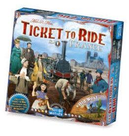 Days of Wonder Games Ticket to Ride France