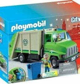 Playmobil Green Recycling Truck 5679