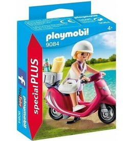 Playmobil Beachgoer with Scooter 9084
