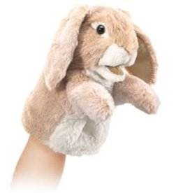"Folkmanis 6"" Little Lop Rabbit Puppet"
