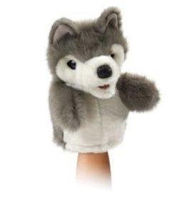 "Folkmanis 7"" Wolf Puppet"