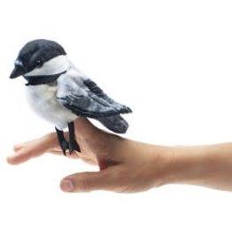 "Folkmanis 4"" Chickadee Finger Puppet"