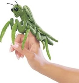 """Folkmanis 6"""" Praying Mantis Puppet"""