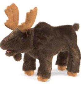 """Folkmanis 10"""" Moose Puppet"""