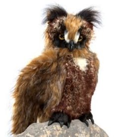 "Folkmanis 20"" Great Horned Owl Puppet"