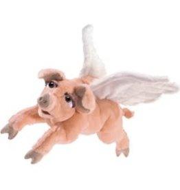 "Folkmanis 20"" Flying Pig Puppet"