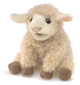 "Folkmanis 8"" Small Lamb Puppet"