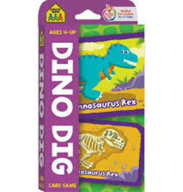 School Zone Dino Dig Flash Cards