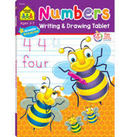 School Zone Writing and Drawing Tablet Numbers