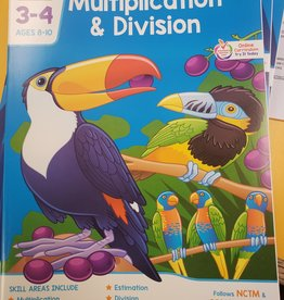 School Zone Multiplication and Division
