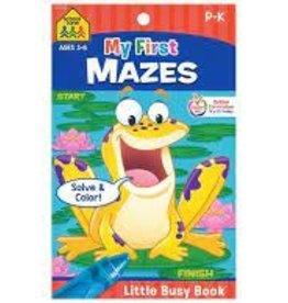School Zone My First Mazes
