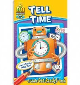 School Zone Get Ready to Tell Time