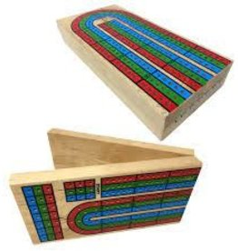 "John Hansen 3 Track Folding Cribbage 14"""