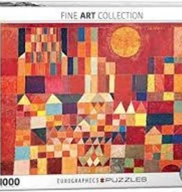 EuroGraphics Castle and Sun by Paul Klee 1,000 PC