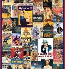 EuroGraphics World War I & II - Vintage Posters 1,000 PC