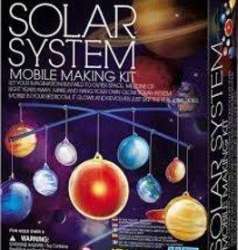 Kidz Lab Glow Solar System Mobile
