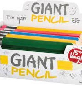 Toysmith Giant Pencil (Single Item, Assorted Color)