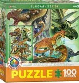 EuroGraphics Herbivorous Dinosaurs 100 PC