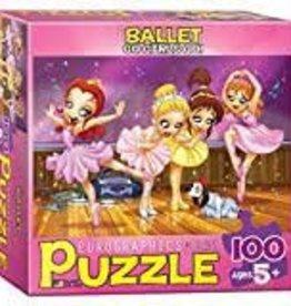 EuroGraphics Ballet - Go Girls Go! 100 PC