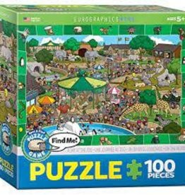 EuroGraphics A Day at the Zoo - Spot & Find 100 PC