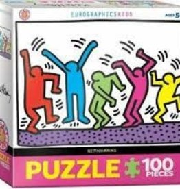 EuroGraphics Dancing by Keith Haring 100 PC