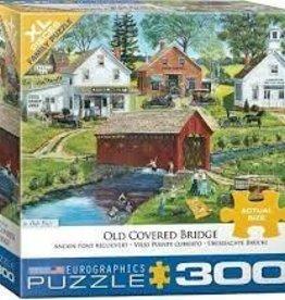 EuroGraphics Old Covered Bridge by Bob Fair 300 PC