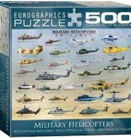 EuroGraphics Military Helicopters 500 PC