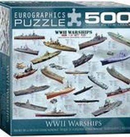 EuroGraphics WWII War Ships 500 PC