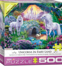 EuroGraphics Unicorns Fairy Land 500 PC